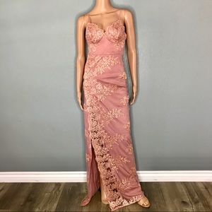 Maxi dress for wedding or prom